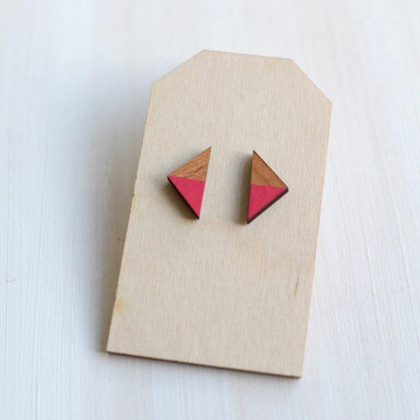 Triangle Fushia