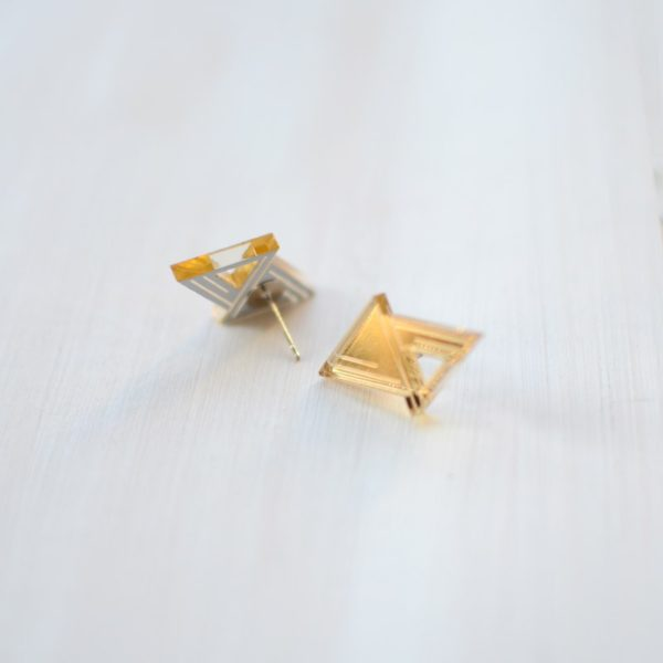 Double triangle Gold