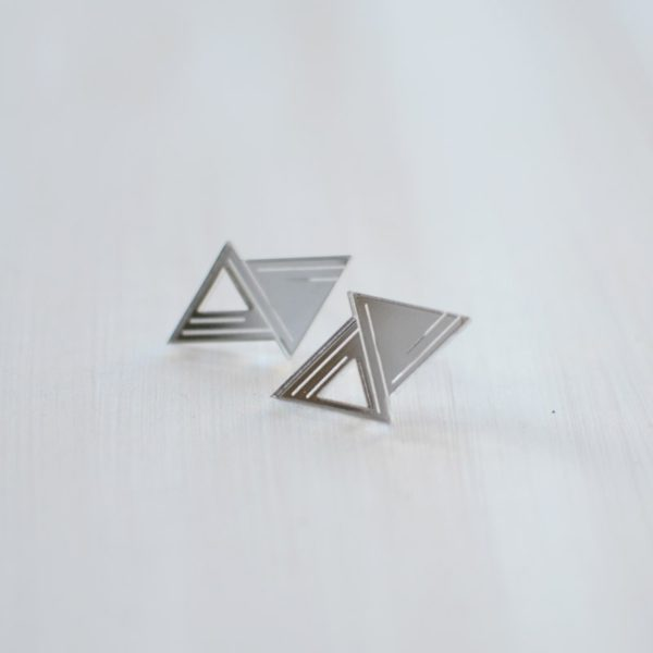 Double triangle Silver
