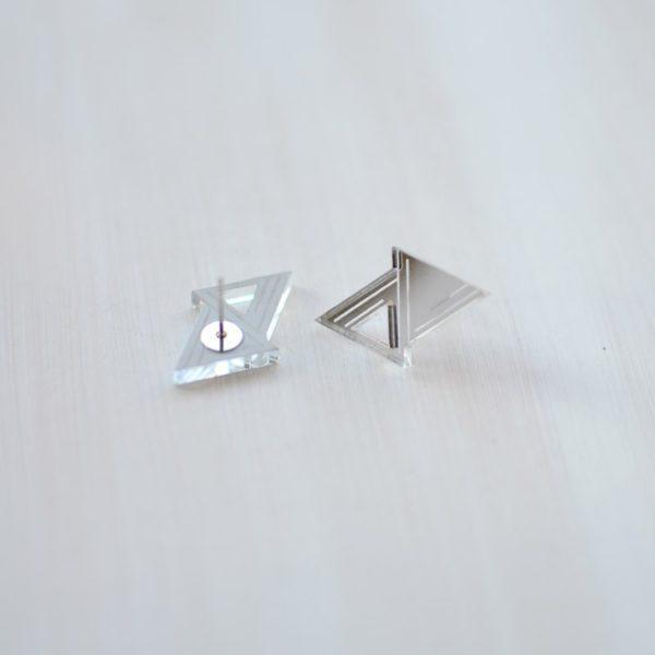 Double triangle Silver