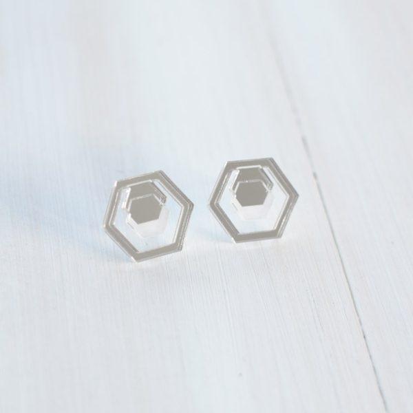 Hexa mirror Silver