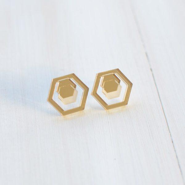 Hexa mirror Gold