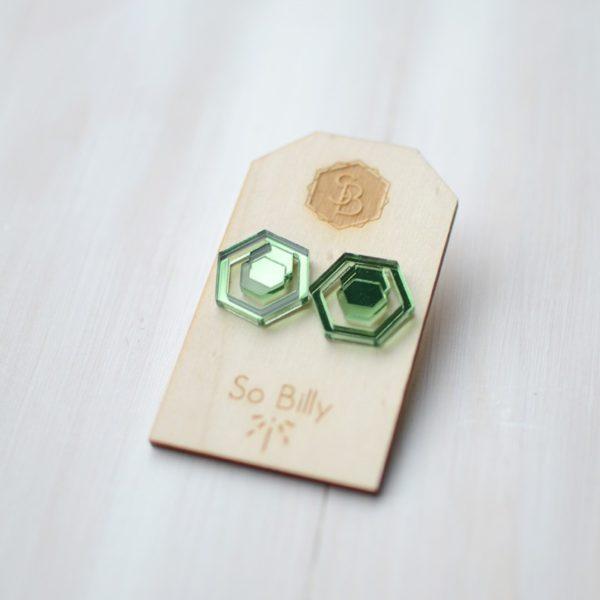 Hexa mirror Green