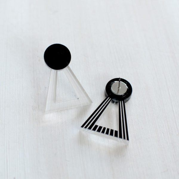 Lock White/black
