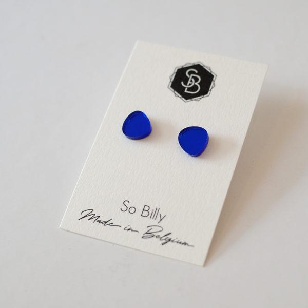 mini oave bleu royal miroir